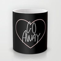Go Away 2 Mug by Stoned Levi | Society6