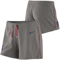 Nike New York Giants Women's Wildcard Jersey Shorts - Ash