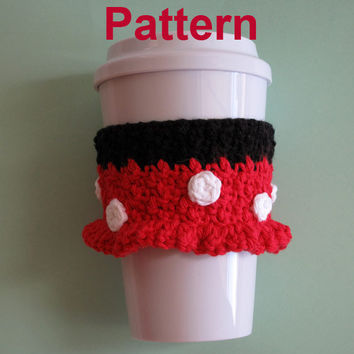 PDF Pattern: Crochet Minnie Mouse Cozy