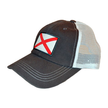 State Traditions - Alabama Flag Trucker Hat