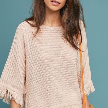 Frenchie Fringed Poncho