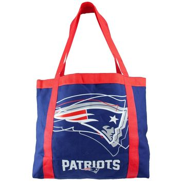 New England Patriots Tailgate Canvas Tote Shoulder Bag Purse NFL