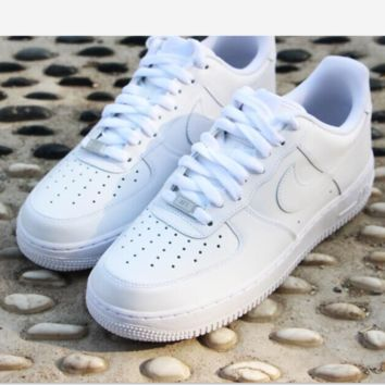 """Nike ""Fashion men's shoes air force  sandals leisure sports shoes white"