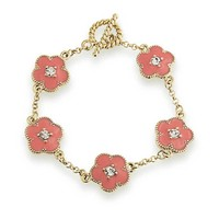 Bling Jewelry Coral Crush Bracelet