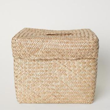 Seagrass Storage Basket - Beige/seagrass - Home All | H&M US