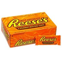 REESE'S PEANUT BUTTER CUPS (36CT.) & REESE'S PIECES