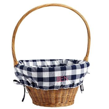 Buffalo Check Easter Basket Liners