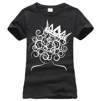 Natural Hair Curly Queen T Shirts