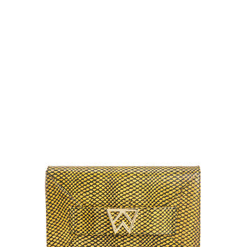 Forever Classy Clutch in Sunflower Scale