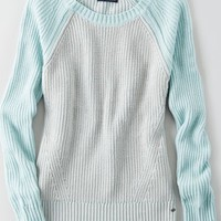 AEO Women's Colorblock Sweater