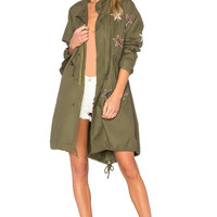 MPD BOX Parka With Stars in Military