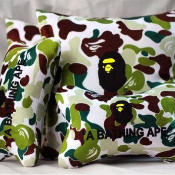 Cars Camouflage Stylish Neck Protected Strong Character Cushion [10779759943]