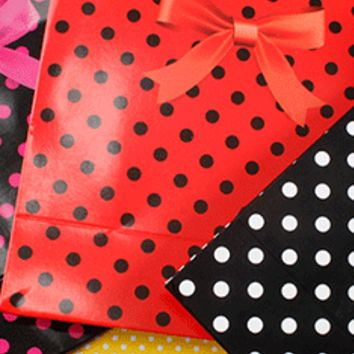 Polka Dot Gift Bag