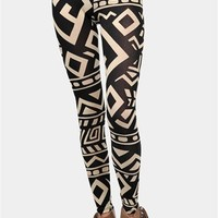 Wanderlust Leggings - White/Beige