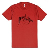 Panic! at the Disco-Unisex Red T-Shirt
