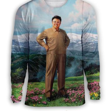 Glorious Sweatshirt of Dear Leader