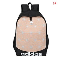 Adidas Fashion New Letter Print Women Men Travel Leisure Backpack Bag 3#