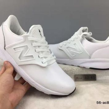 CREYONV cxon new balance nb421 leather shoes white for women men running sport casual shoes sneakers