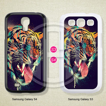 Phone cases, Tiger, Samsung Galaxy S3 S4 S5 Case, Samsung Galaxy Note 2 3 case, Case for Samsung--S0359