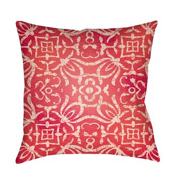Yindi Pillow Cover - Coral, Pale Pink, Bright Pink - YN006