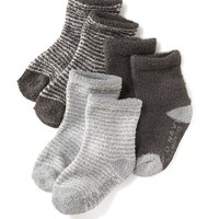 Old Navy Patterned Cozy Socks 3 Pack