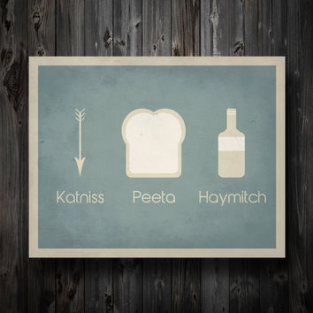 Katniss Peeta Haymitch Simplest Definition by EntropyTradingCo