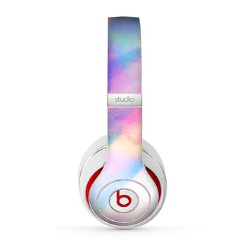 The Tie Dyed Bright Texture Skin for the Beats by Dre Studio (2013+ Version) Headphones