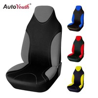 AUTOYOUTH Sports Style High Back Bucket Car Seat Cover Universal Fits Most Car Covers Interior Accessories Seat Covers 4 Colours