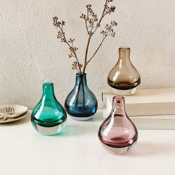 Glass Bud Vases