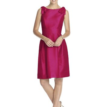 Alfred Sung - D626 Bridesmaid Dress in Sangria