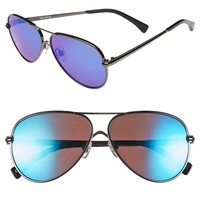 Women's Wildfox 'Airfox II Deluxe' 57mm Aviator Sunglasses