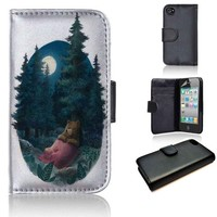 Lovely, Dark, and Deep | wallet case | iPhone 4/4s 5 5s 5c 6 6+ case | samsung galaxy s3 s4 s5 s6 case |