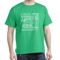 The Many Names of Burton Gus Guster - Psych T-Shirt