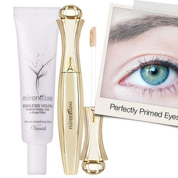 *SP How to prep your eye area for a longer look! Instant Eye Lifting Primers - Mirenesse