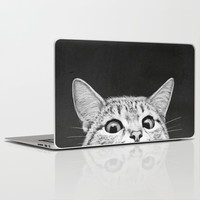 You asleep yet? Laptop & iPad Skin by Laura Graves | Society6
