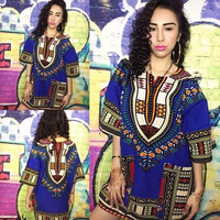 African dashiki shirt , s to 4xl
