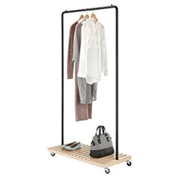 Whitmor Slat Wood Garment Rack
