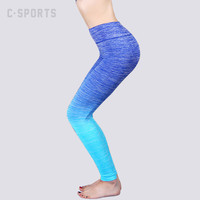 Female Workout Pants Slim Elastic Legings