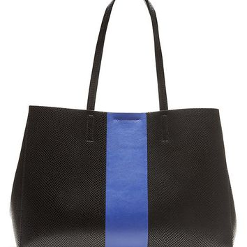 Banana Republic Larkin Racing Stripe Tote Size One Size - Black