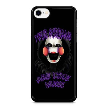 Five Nights At Freddy S The Marionette iPhone 8 Case