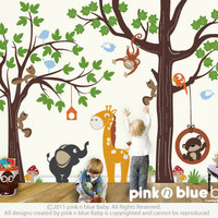 Wall decals : Make a Playroom with our ORIGINAL PLAYROOM Nursery Kids Removable Wall Vinyl Decal - All Kids love this