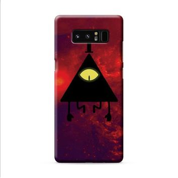 Bill Cipher Red Cloud Samsung Galaxy Note 8 case