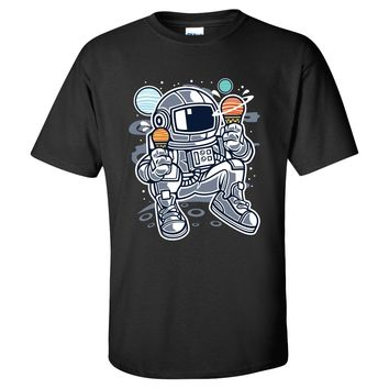 Astronaut Ice Cream Mens/Unisex T Shirt