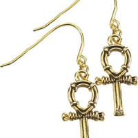 Ankh earrings [JEAJ394] - $8.95 : Magickal Products, Crystals, Tarot Decks, Incense, and More!