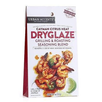 Urban Accents Cayman Citrus Heat Grilling and Roasting Dryglaze, 2-Ounce Packages (Pack of 6)