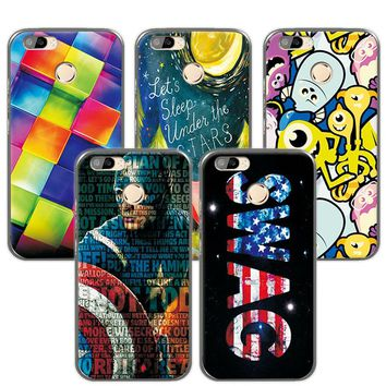 "For Oukitel U22 Cases Lovely Art Painted Colorful Capa Oukitel U22 Case Cover funda Oukitel U22 U 22 5.5""+Gift"