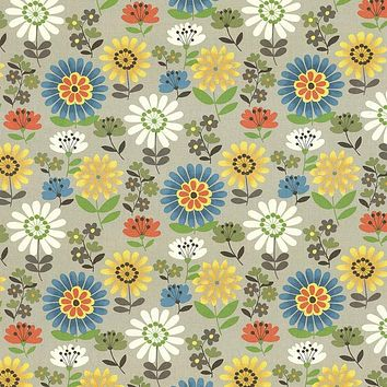 Kasmir Fabric Daisy Daze Clay