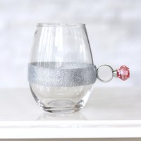 Stemless Wine Glass with Ring