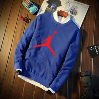 Plus Size Casual Korean Sports Long Sleeve Hoodies [12225162899]
