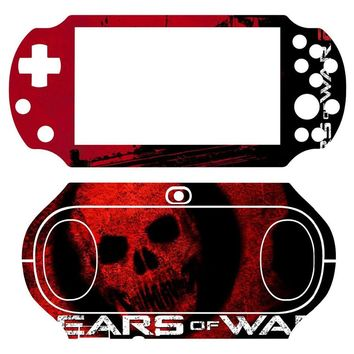 Gears of War 102 Vinyl Skin Sticker Protector for Sony PS vita 2000 PSvita PSV 2000 skins Stickers for PSV2000
